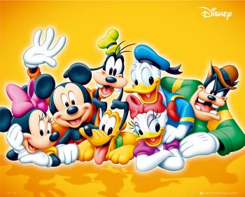 Plakat DISNEY - characters