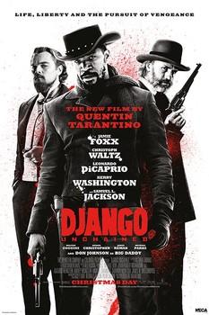 Plakat DJANGO - life liberty