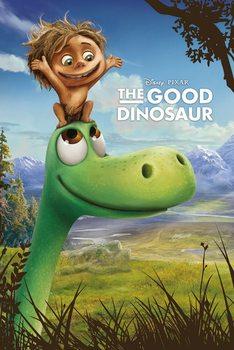 Plakat Dobry dinozaur - Arlo and Spot