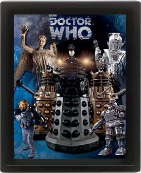 Plakat DOCTOR WHO - aliens