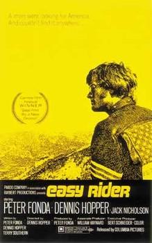 Plakat EASY RIDER - us one sheet / yellow