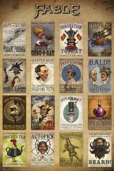 Plakat Fable - Adverts
