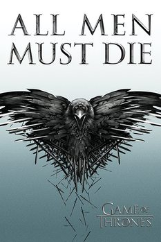 Plakat Gra o tron - Game of Thrones - All Men Must Die