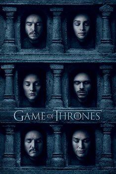 Plakat Gra o tron - Hall of Faces