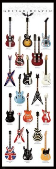 Plakat Guitar heaven