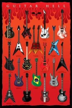 Plakat Guitar hell - the axesod evil