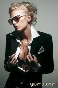 Plakat Gwen Stefani - jacket