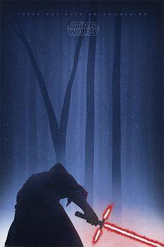 Plakat Gwiezdne wojny, część VII : Przebudzenie Mocy - Awakening