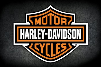 Plakat Harley Davidson - logo