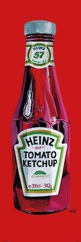 Plakat Heinz - tomato ketchup