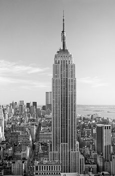 Plakat HENRI SILBERMAN - empire state building