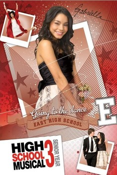 Plakat HIGH SCHOOL MUSICAL 3 - gabriella