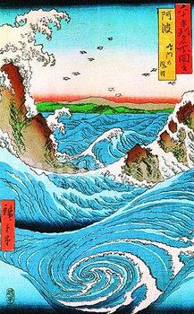 Plakat Hiroshige naruto rapid