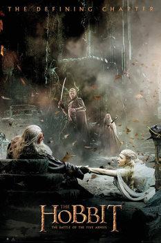 Plakat Hobbit 3: Bitwa Pięciu Armii - Aftermath
