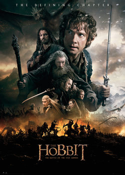 Plakat Hobbit 3: Bitwa Pięciu Armii - Fire