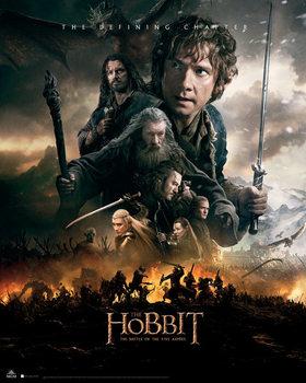 Plakat Hobbit 3: Bitwa Pięciu Armii