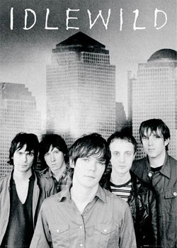 Plakat Idlewild - band shot