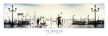 Plakat Il Bacio - venezia, italy