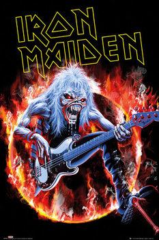Plakat Iron Maiden - fear live