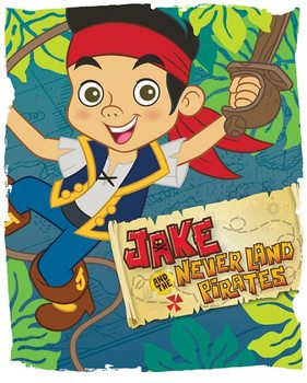 Plakat Jake i piraci z Nibylandii - Swing