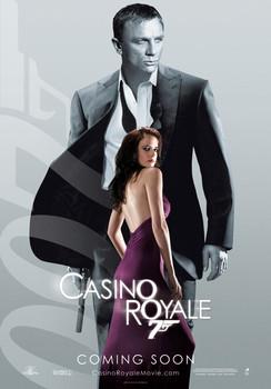 Plakat JAMES BOND 007 - casino royale vesper