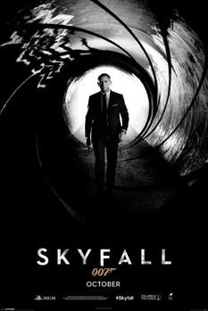Plakat JAMES BOND 007 - skyfall