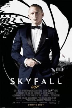 Plakat JAMES BOND 007 - skyfall one sheet black