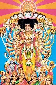 Plakat Jimi Hendrix - axis bold as love