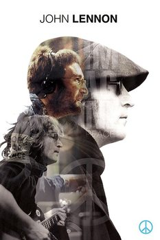 Plakat John Lennon - Double Exposure