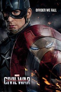 Plakat Kapitan Ameryka: Wojna bohaterów - Reflection