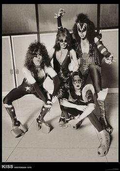 Plakat Kiss - Amsterdam 1976