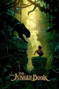 Plakat Księga dżungli - Bagheera & Mowgli Teaser