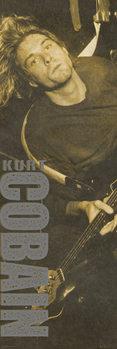 Plakat Kurt Cobain - Brown