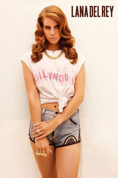 Plakat Lana del Rey - hollywood
