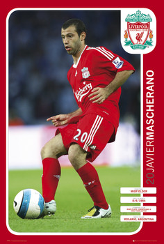 Plakat Liverpool - mascherano 08/09