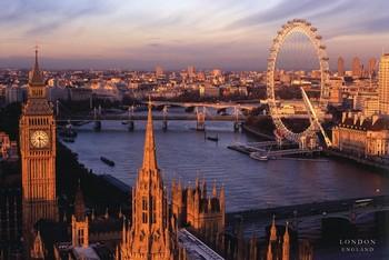 Plakat Londyn - England