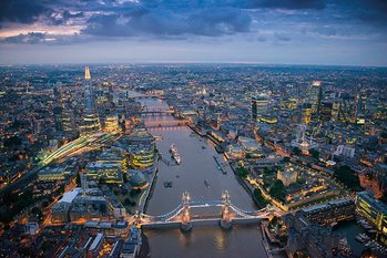 Plakat Londyn - Jason Hawkes