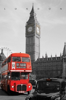 Plakat Londyn - westminster