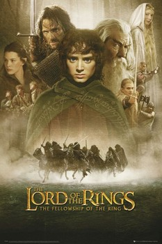 Plakat LORD OF THE RINGS - fellowship