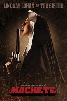 Plakat MACHETE - the sister