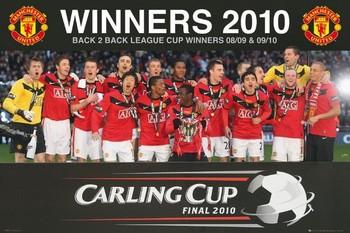 Plakat Manchester United - cup league