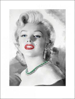 Reprodukcja Marilyn Monroe - Diamonds Are A Girl's Best Friend