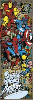 Plakat MARVEL COMICS - heroes