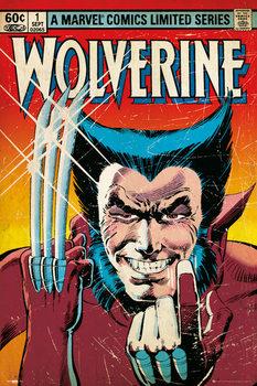 Plakat MARVEL - wolverine