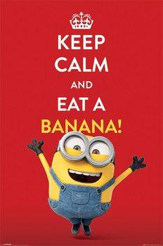 Plakat Minionki (Despicable Me) - Keep Calm