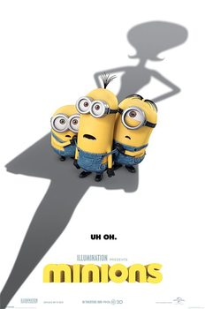 Plakat Minionki (Despicable Me) - Uh Oh