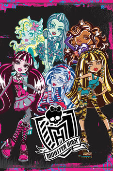 Plakat MONSTER HIGH - monsters