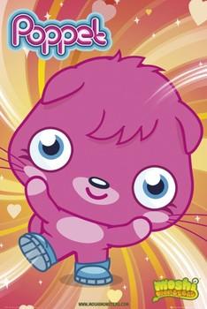 Plakat Moshi monsters - poppet