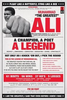 Plakat Muhammad Ali - vintage corbis