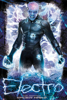 Plakat NIESAMOWITY SPIDER-MAN 2 - THE AMAZING SPIDERMAN 2 - Electro